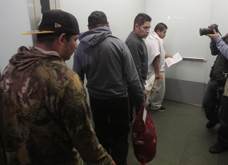 EE.UU. y México deportan en 2018 a unos 75.105 inmigrantes hondureños