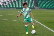El mexicano Diego Lainez, convocado por el Betis para el partido de Copa