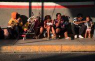 Caravana migrante comienza su ruta por el sureste de México