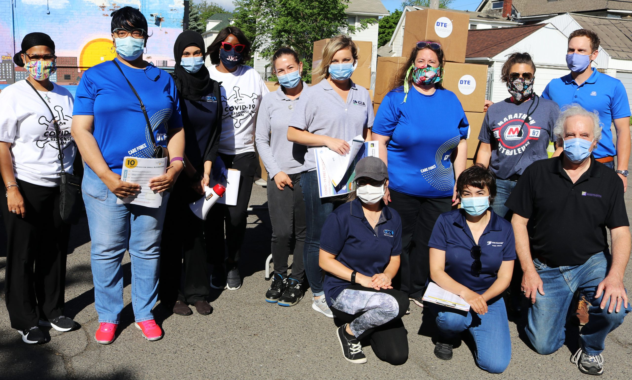 Successful Delivery of Free PPE in SW Detroit